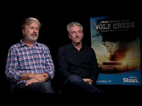 "Wolf Creek Season 2: John Jarratt on why he's ""nailing"" Mick Taylor, with Greg McLean"