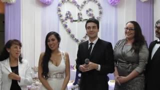 Alfredo Wedding Lima Peru bride words