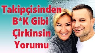 Pınar Altuğ takipçisinden aldığı yorum ve karşılığından