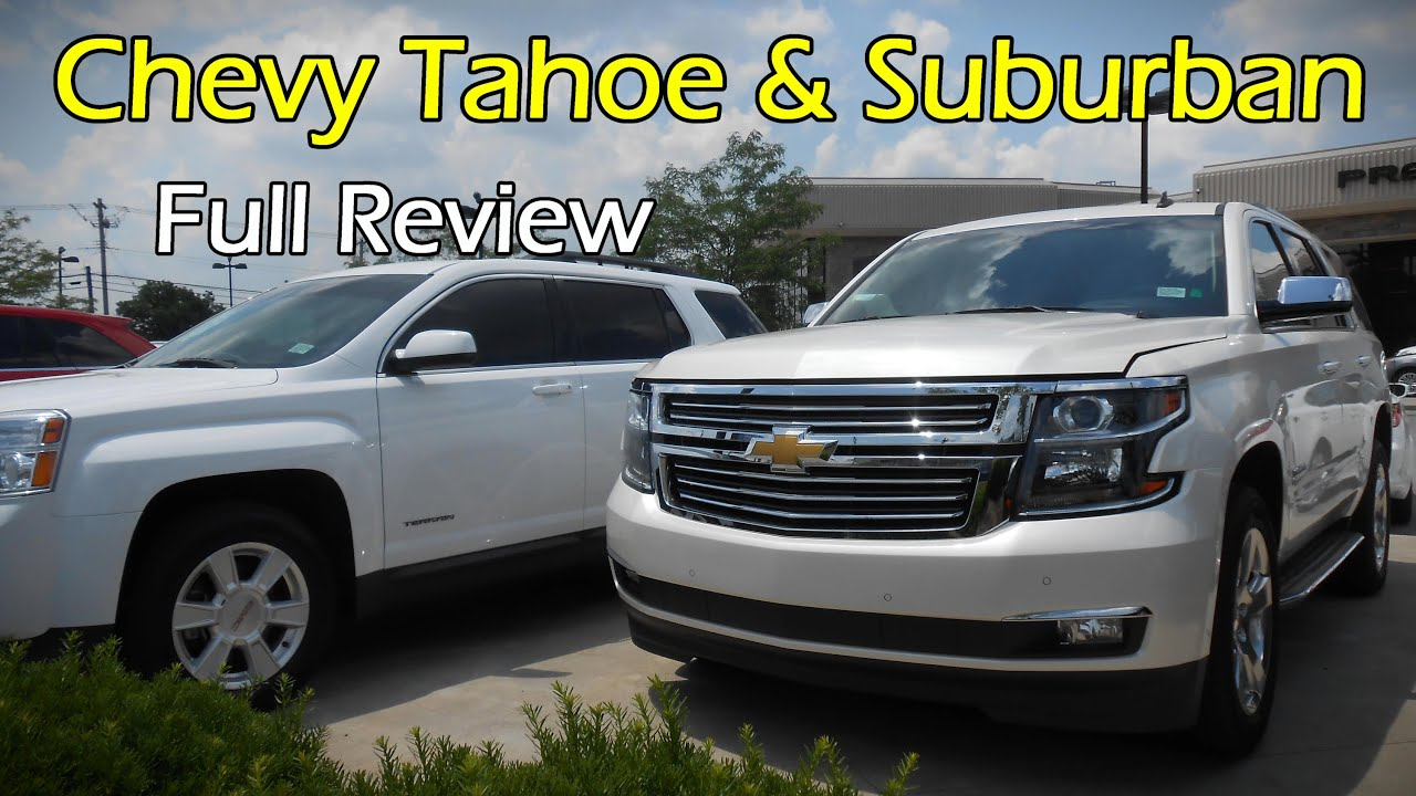 2015  2016 Chevy Tahoe  Suburban LTZ Full Review  YouTube