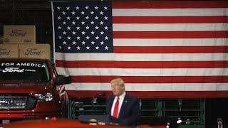 President Trump Tours Ford's Ventilator Factory