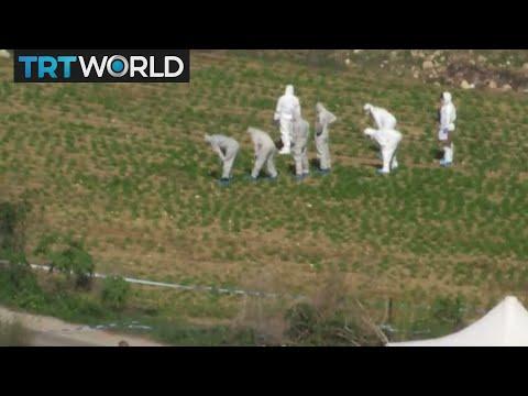 Malta Assassination: Investigators search for clues at murder site