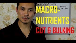 DESI NUTRITION- MACRO-NUTRIENTS// CUTTING//BULKING[HINDI] PART 2
