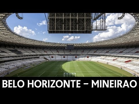 Belo Horizonte - Mineirao - 2014 FIFA World Cup Stadium