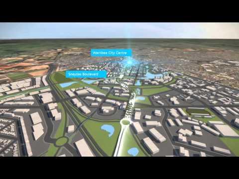 East Werribee Precinct Animation