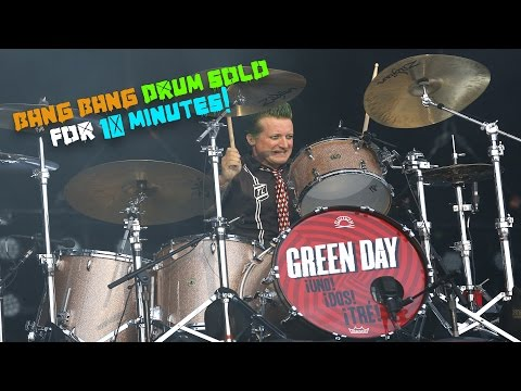 Green Day // BANG BANG DRUM SOLO for 10 minutes
