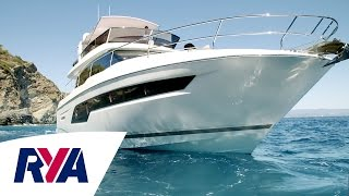 Prestige 630 Luxury Super Yacht Boat Tour at London Boat Show 2017