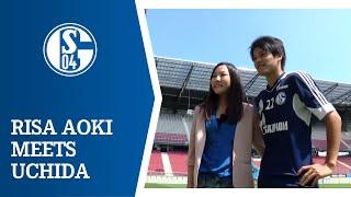 Risa Aoki meets Atsuto Uchida