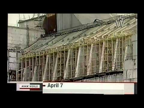 Japan Nuclear Crisis filling reactor one 4/26/11 JST