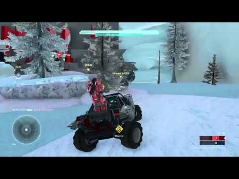 Halo 5 Avalanche Remake GAMEPLAY | Snowfall by Gronfors | Halo 3 Classic Remakes