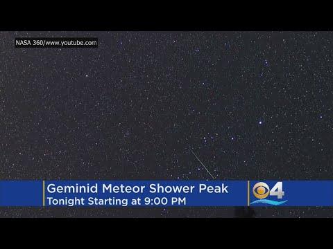 Stargazers Look Up As 'King Of Meteor Showers' Peaks Tonight