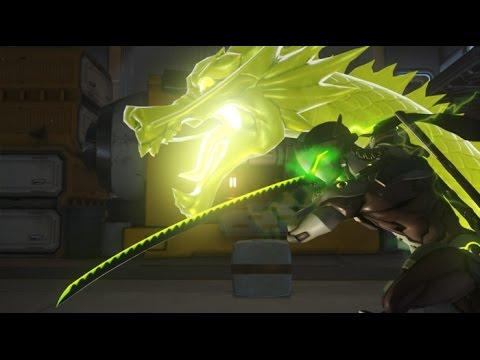 Genji's nerfed ultimate