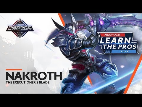 LEARN FROM THE PROS | NAKROTH - THE EXECUTIONER\'S BLADE