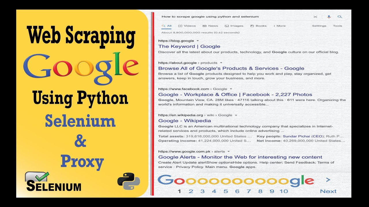 Download Scrape Google Search With Proxy Using Python