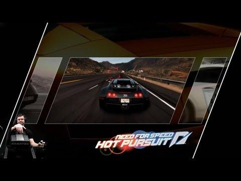 Нелепые погони - Need For Speed: Hot Pursuit на руле Fanatec CSL Elite