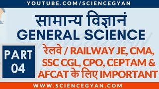 GENERAL SCIENCE PART 4 | IMPORTANT PHYSICS OBJECTIVE QUESTIONS FOR CEPTAM 9, SSC, RAILWAYS, & CTET