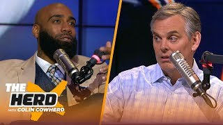 DeAngelo Hall & Colin review Wild Card weekend, talk Nick Foles' future with Eagles | NFL | THE HERD