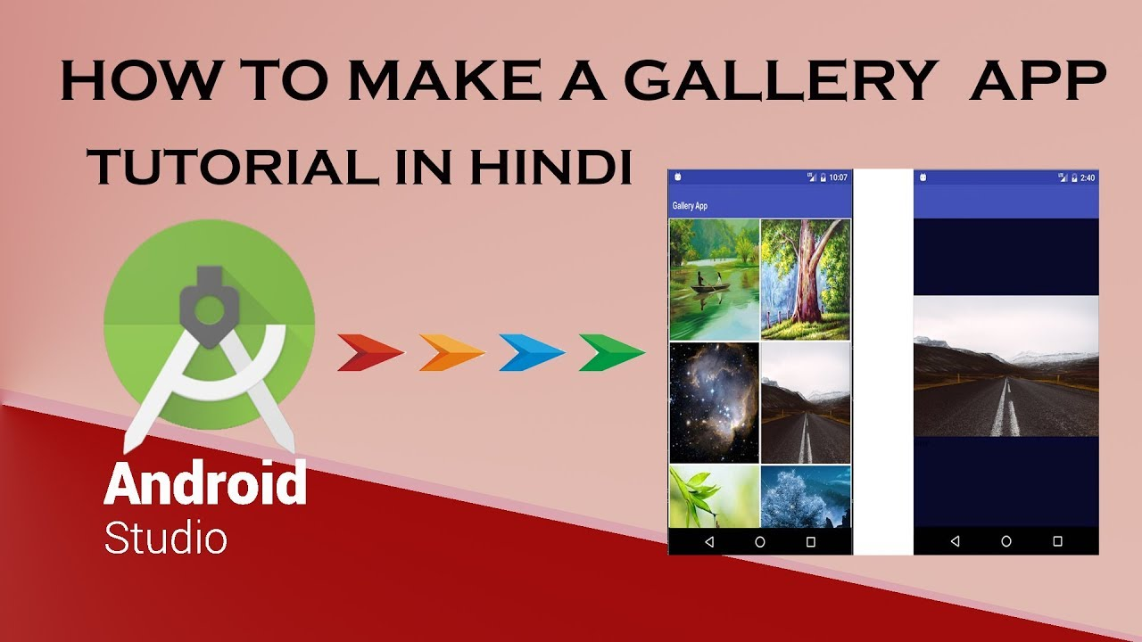 Android recyclerview grid gallery nige's app tuts.