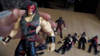 WWE KANE FIGURE COLLECTION REVIEW