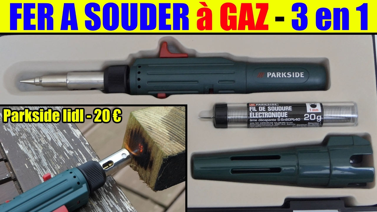 fer souder gaz lidl parkside pr sentation gas soldering iron gasl tkolben saldatore a gas. Black Bedroom Furniture Sets. Home Design Ideas