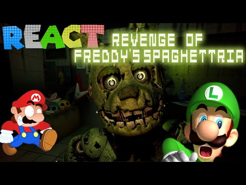 Thumbnail: LUIGIKID REACTS TO: RETARDED 64: REVENGE OF FREDDY'S SPAGHETTRIA by SMG4