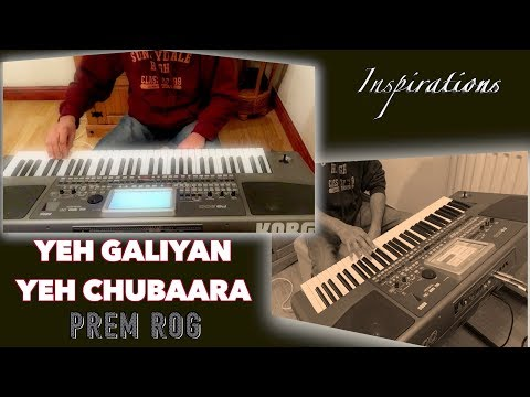 yeh galiyan yeh chubaara-PREM ROG-Full Song