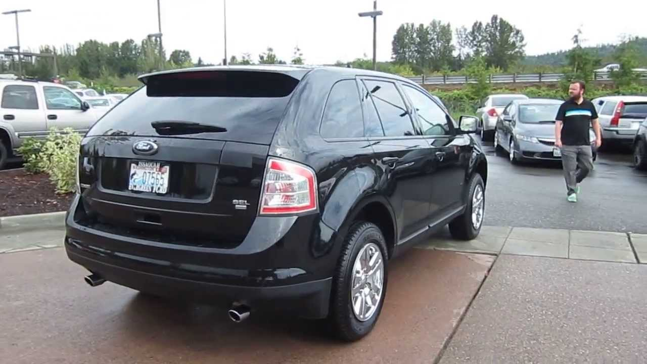 2008 Ford Edge Black Stock 13 3208a Youtube