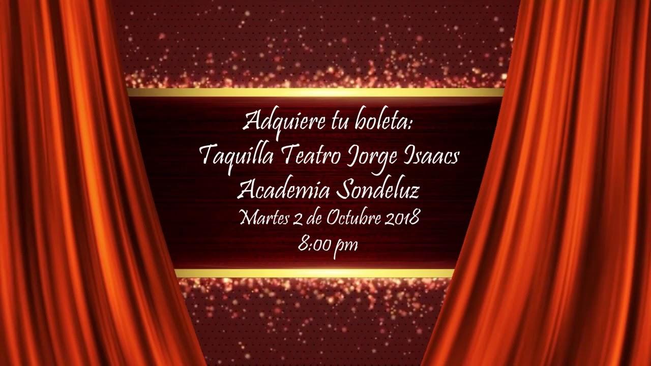 Del tango a la salsa 2018 - Adquiere Tu Boleta