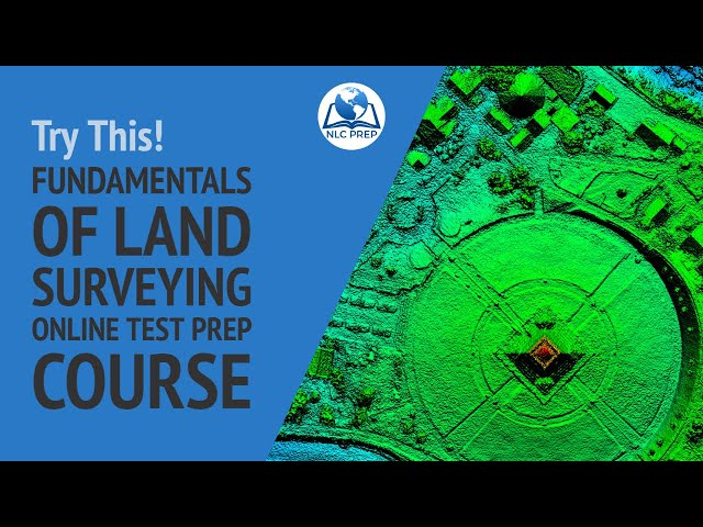 Fundamentals of Land Surveying Online Test Prep Course