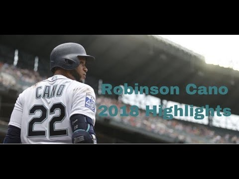 Robinson Cano 2018 Highlights
