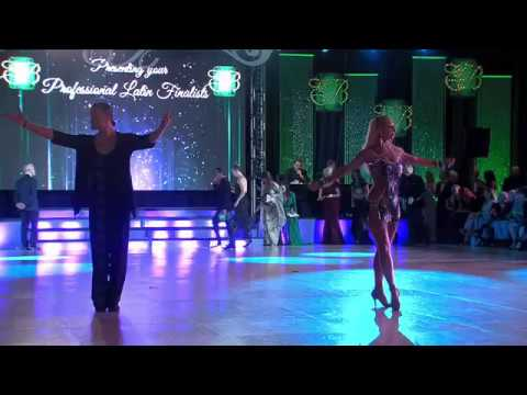 2017 Open Professional Latin at the Emerald Ball Dancesport
