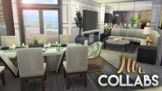 MR. COLLABS | MODERN OASIS w/Simarchy | The Sims 4 Speed Build