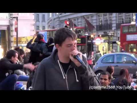 Beatbox in Piccadilly Circus London by ABH Beatboxer