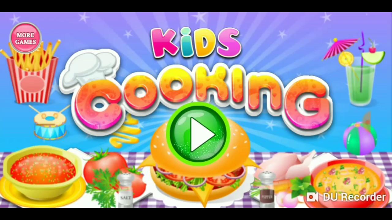 Kids Cooking Juego De Cocina Hamburguesa Youtube