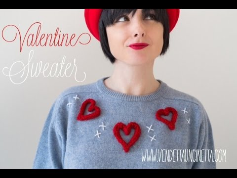 Tutorial San Valentino Refashion Vendetta Uncinetta Youtube
