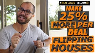 How to Flip More Houses