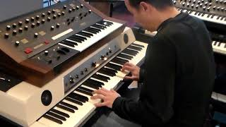 Waldorf Zarembourg - Studio keyboards, Jam session 1