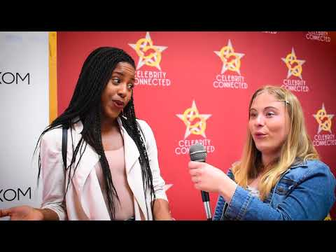 Riverdale's Asha Bromfield  at Celebrity Connected Gifting Suite