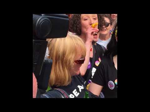 Φωτογραφικό υλικό της Ν.Βαλαβάνη από το Ιρλανδικό Δημοψήφισμα για ανάκληση του άρθρου 8 του Συντάγματος στο Δουβλίνο, 25-26 Μαίου 2018