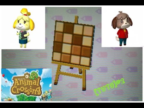 acnl tuto comment faire un sol carr de chocolat miam youtube. Black Bedroom Furniture Sets. Home Design Ideas