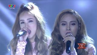 we dont talk anymore - duong khac linh ft s-girls  chung ket  the x factor - nhan to bi an 2016