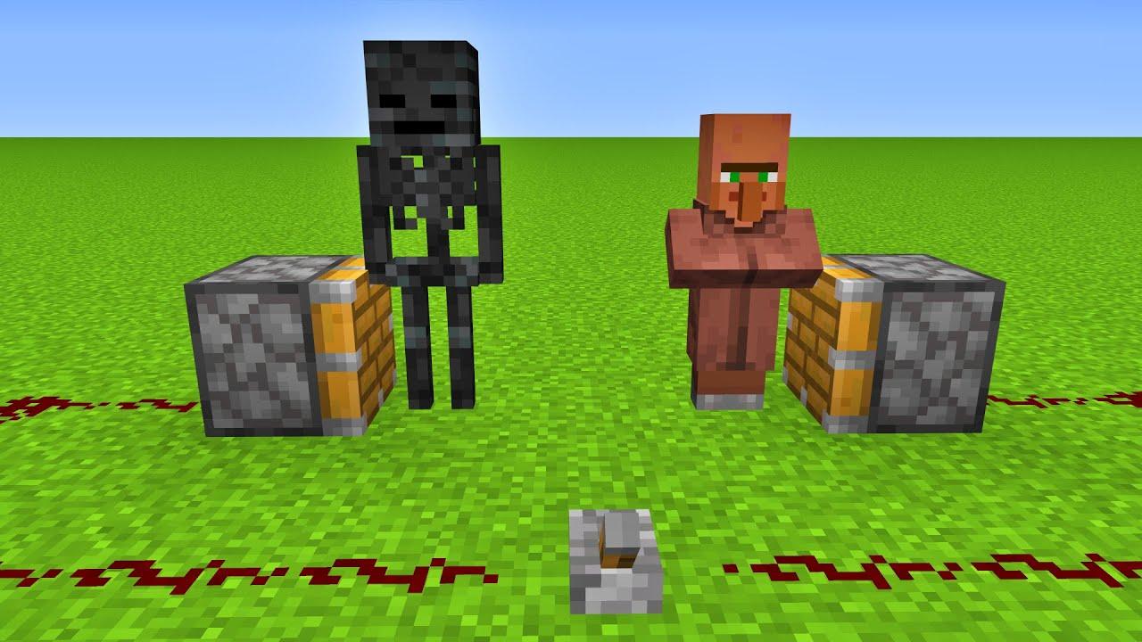 Wither Skeleton + Villager = ????