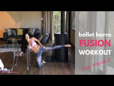 Ballet Barre Fusion Workout (low impact, high intensity)