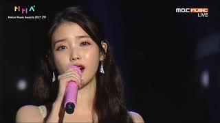 IU - Through The Night + Dear Name (Melon Music Awards 2017)