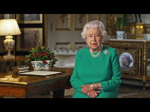 REPLAY - Discours de la Reine Elizabeth sur la pandémie de coronavirus - Covid-19