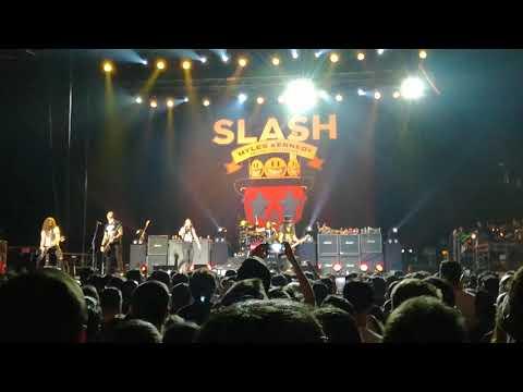 Slash feat. Myles Kennedy and The Conspirators - Worls On Fire (Intro + Chorus)