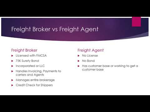 What Is The Difference Between A Freight Broker vs Freight Agent?