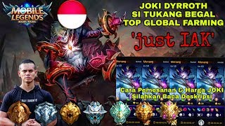 TOP GLOBAL DYRROTH 10. (open joki baca deskripsi)