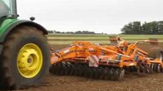 Normac cultivation machinery demonstration
