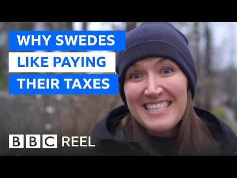 Why Sweden is proud to have the world's highest taxes - BBC REEL